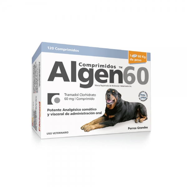 Algen 60 comprimidos - Richmond Vet Pharma